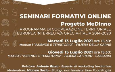 Training Seminars of the MEDINNO project